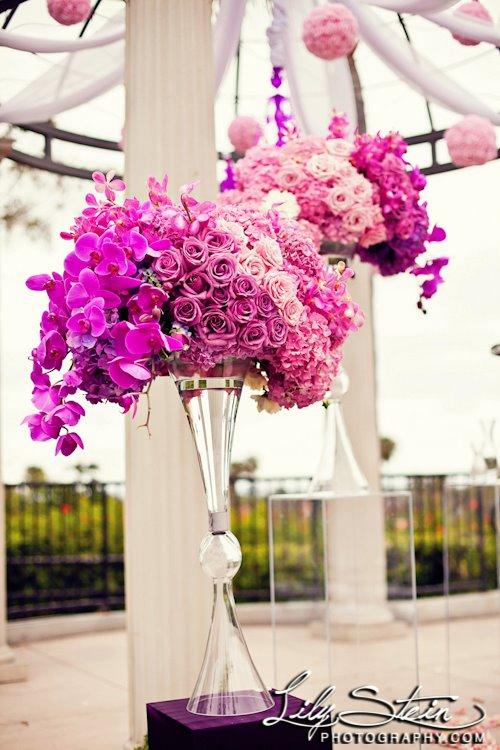 Sacramento Florist Hot Pink Wedding Ideas Sacramento Wedding Planner