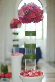 Wedding Centerpieces and Cylinder Vase