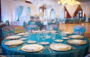 Pintuck Linens and Tablecloths