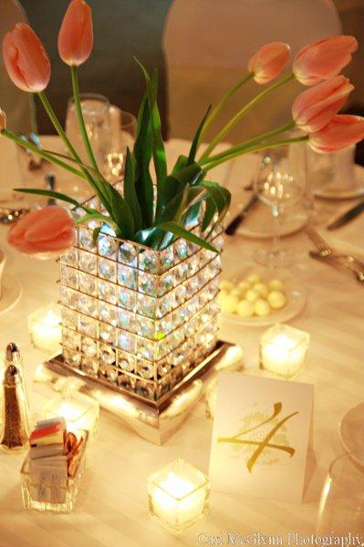 Diy wedding centerpiece and rentals flowers