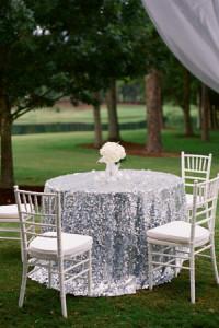 Sequin Tablecloth & Rentals