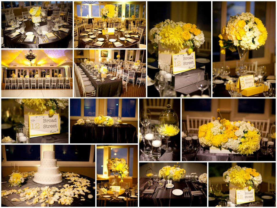 Gray Yellow Decoration Ideas Rentals Sacramento Wedding Planner