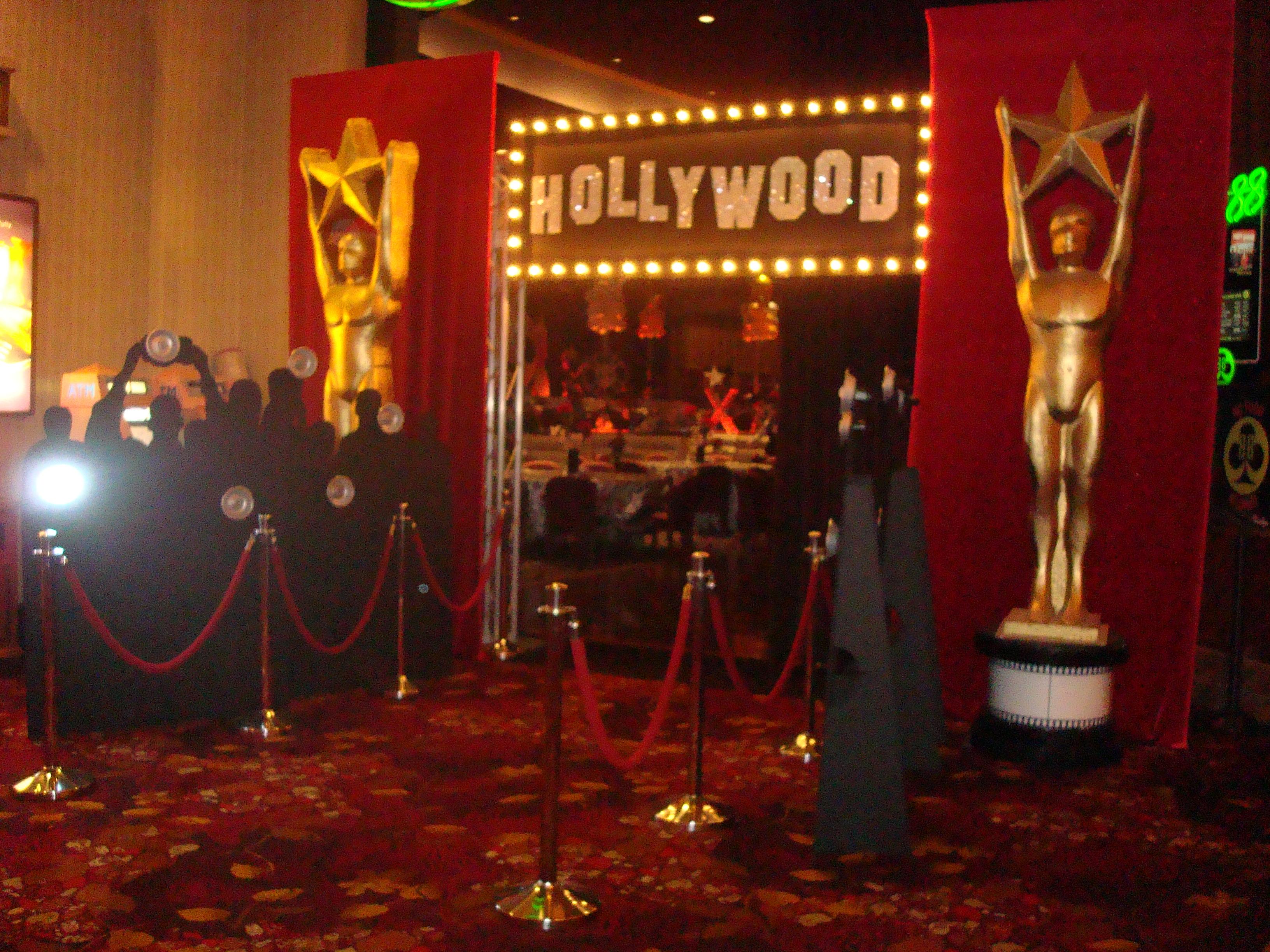 Oscar Themed Ideas Sacramento Prop Amp Linen Rentals