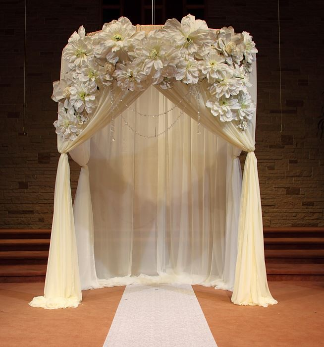 Ceremony Decoration Ideas Arch Rentals And Wedding Decor Wedding