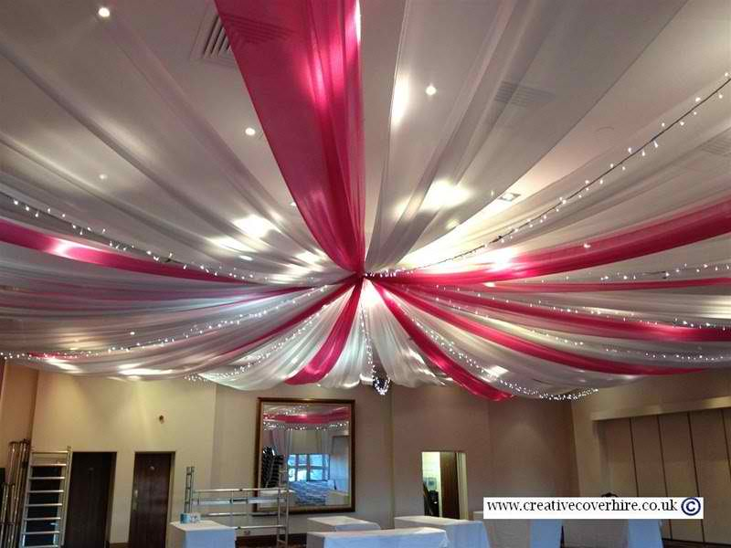 Sacramento Bay Area Ceiling Draping Backdrops