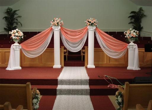 Ceremony Decoration Columns Flower Ideas Wedding Amp Event