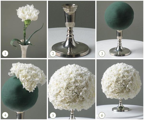 DIY Pomander Ball Centerpieces How To's | Sacramento Wedding Florist