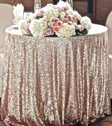 Inexpensive Wedding Linen Als Bay Area Sequin Table Cloth