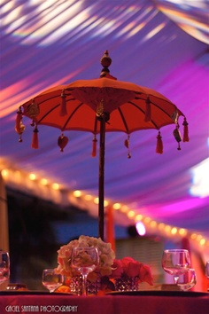 Indian Wedding Decor Ideas | Mehndi | Sangeet | Umbrella ...