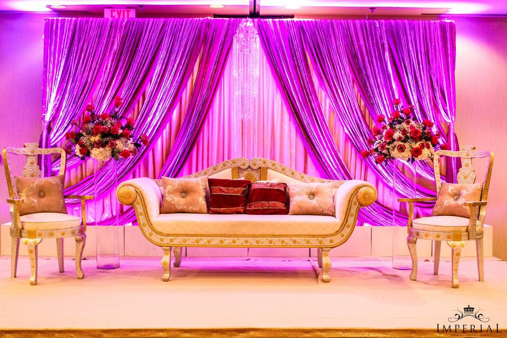 Bay area indian wedding decor ideas mehndi sangeet umbrella decor bay area wedding backdrop uplighting flower ceremony decor ideas junglespirit Images