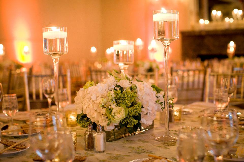 Candle centerpiece ideas idesignevents wedding