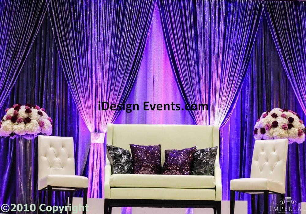 rent wedding reception decorations idesignevents pipe drape bay area backdrop wedding 7067