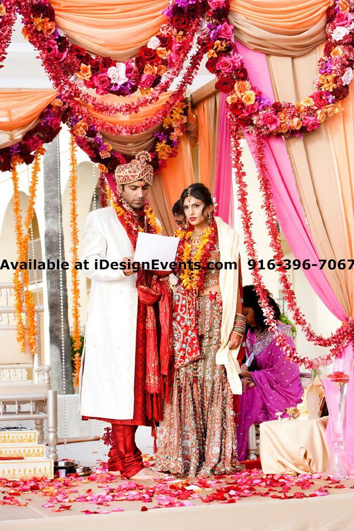 Maharani South Asian Weddings Hindu Indian Wedding Mandap