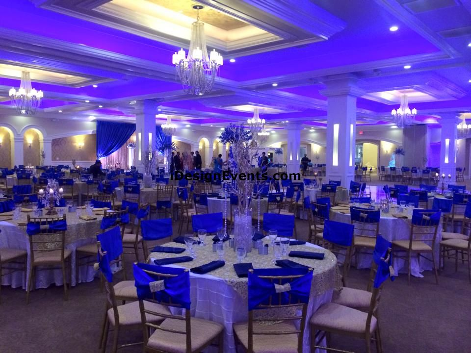 Royal Blue Gold Wedding Decor Ideas Sacramento Wedding Planner