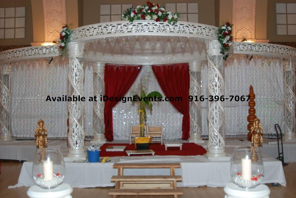 Mandap Rentals Idesign Events Indian Decor Ideas
