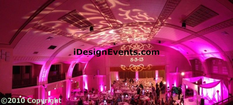 Wedding Decorations At Masonic Center Idas Sacramento Wedding Planner
