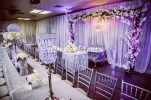 reception wedding centerpiece flowers maharani